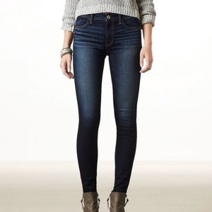 American Eagle Outfitters Jeans - American Eagle High Rise Super Stretch Jeggings.